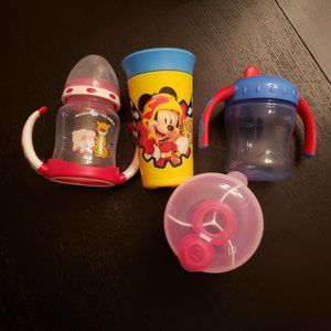 Toddler sippie cup bundle